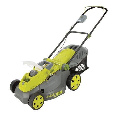 Cordless Electric Lawn Mower Sun Joe Ion16lm Review