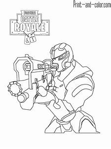 fortnite coloring pages print and colorcom With 10 dancing leds