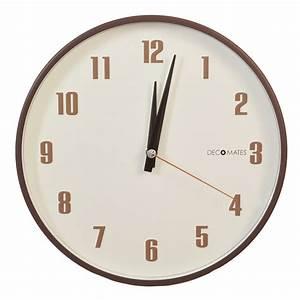 Retro Multiplex Silent Wall Clock DECOMATES