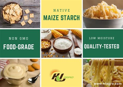 Is there a difference in the flavor or end product. Corn starch is a versatile & easily modified #ingredient ...