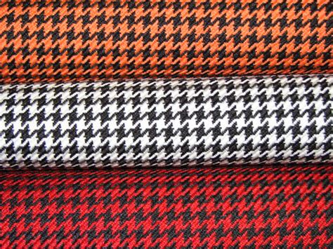 Automotive Upholstery Material by Houndstooth