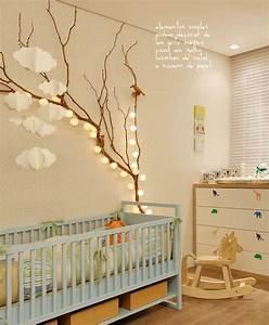 13 idees deco pour customiser la chambre de bebe blog With chambre bébé design avec matelas fleur de bambou