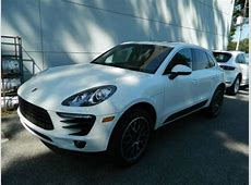 Buy new 2015 Porsche Macan S White New Car Dealer