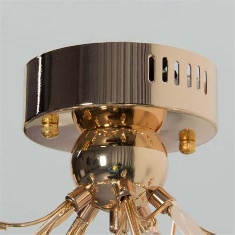 deckenleuchte gold design deckenleuchte gold kristall gutenstein 6 flammig