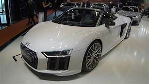 AUDI R8 SPYDER NEW MODEL 2017 COMPILATION 2: BLACK AND ...