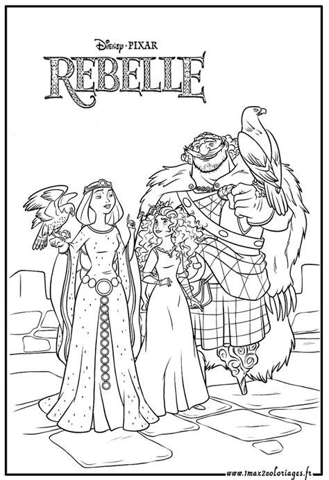 dessins de coloriage rebelle  imprimer