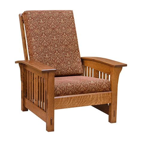 Amish Morris Chair Recliner by Amish Mission Morris Chair Lfq2000f1