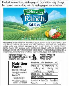 The Original Ranch® Fat Free | Hidden Valley® Ranch