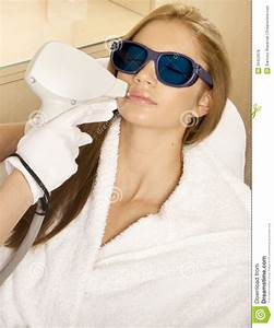 Laser Hair Removal In Professional Studio. Royalty Free ...