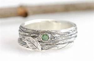 nature inspired wedding rings by beth cyr jewelry With nature wedding ring