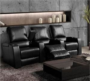 Magnolia home theater seating black or brown leather for Magnolia home theater furniture