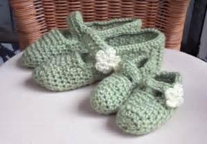 Mary Jane Slippers Crochet Pattern Free