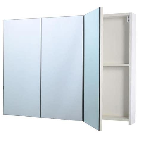 armoire miroir de salle de bain armoire de toilette salle de bain 224 miroir murale 3 portes
