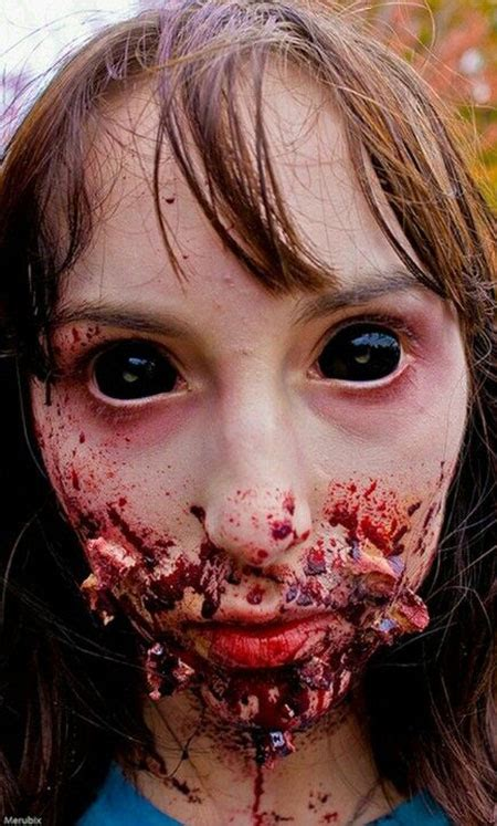 scary zombie makeup halloween looks creepy costumes very horror eyes sfx contacts bloody zombies trends costume gory realistic scariest dead