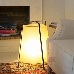 Lampe Galet Grand Modele : lampe poser akane grand mod le avec abat jour en papyrus faro ~ Teatrodelosmanantiales.com Idées de Décoration