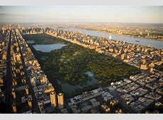 An Aerial View Of Central Park by Michael S Yamashita