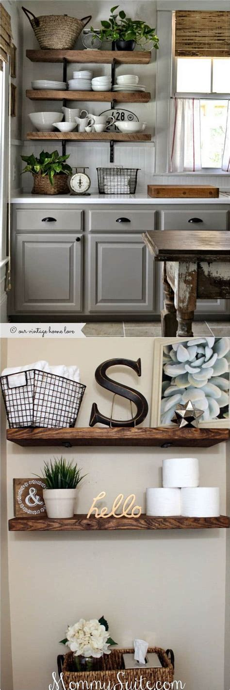 16 Easy And Stylish Diy Floating Shelves & Wall Shelves