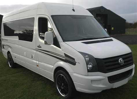 volkswagen crafter vw crafter race van by hr multisport paddock 42