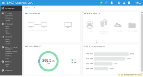 Dell EMC - UnityVSA - 02 - Dashboard - Be-Virtual.net
