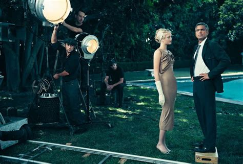 george clooney vanity fair gemma ward and george clooney as classic