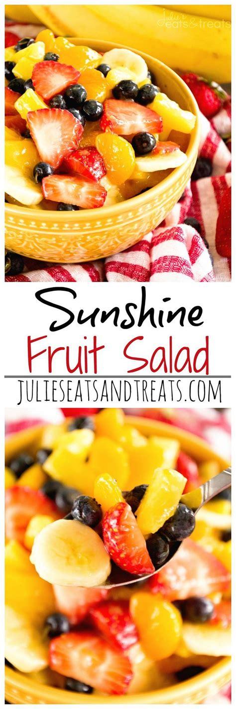 easy fruit salad ideas  pinterest ambrosia