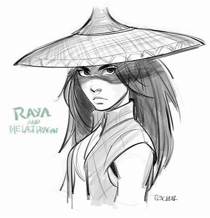 Dragon Raya Last Disney Fan Drawing Draw