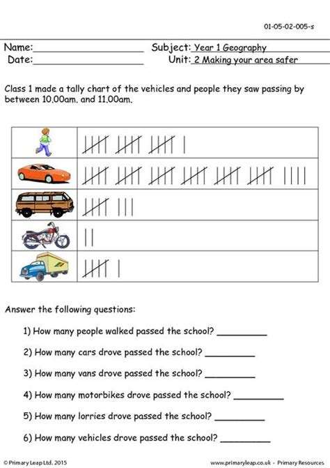 Free Worksheets » Tally Chart Worksheets  Free Math Worksheets For Kidergarten And Preschool
