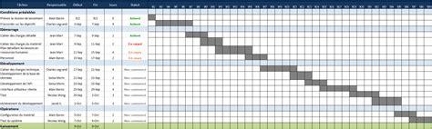 modèle de planning de travail utilisez ce mod 232 le gratuit excel de gestion de projet