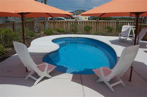 freeform pools small patio pool in fiberglass tropical