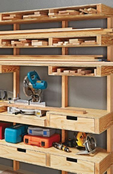 space saving ideas       small shop fill