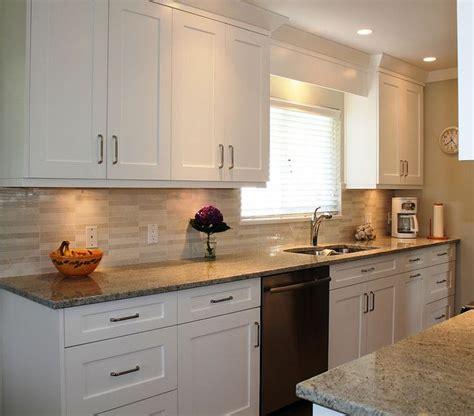 chocolate kitchen cabinets quot white shaker cabinets like backsplash cabinet lighting 2185