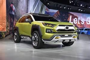 Future Toyota Adventure Concept a Hybrid Off-Roader