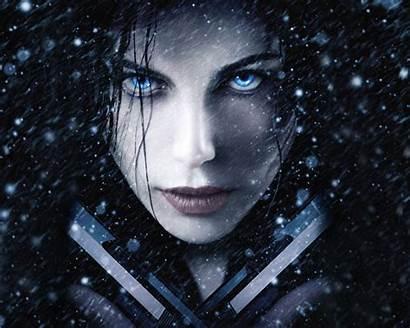 Beckinsale Kate Underworld Wallpapers Eyes Vampires 4k