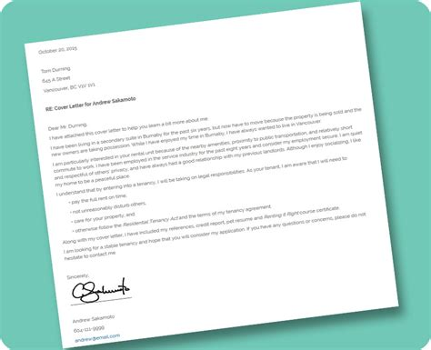 activity cover letter template renting