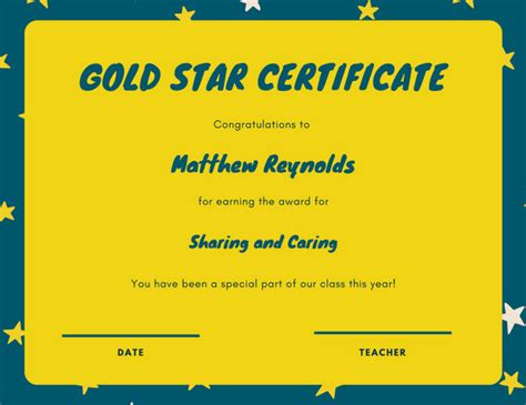 customize  student certificate templates  canva