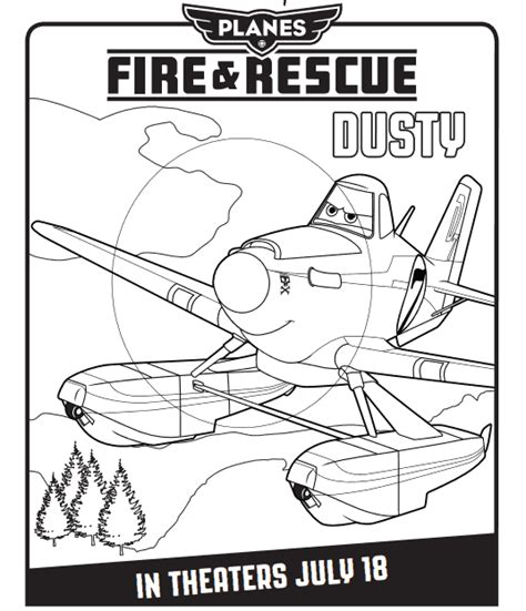 planes fire  rescue  printables coloring pages