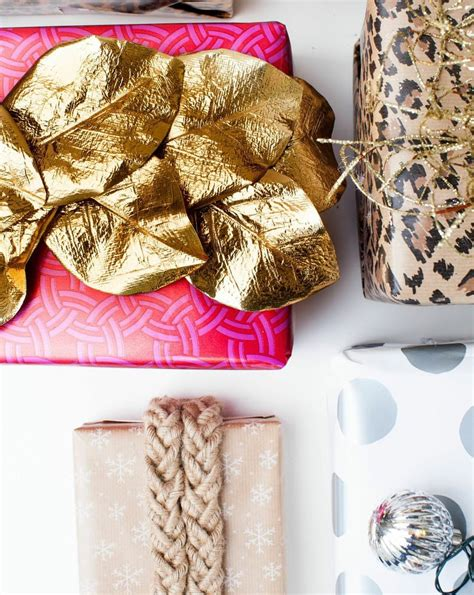 Tips Gorgeous Gift Wrapping by Unique Gift Wrap Popsugar Home