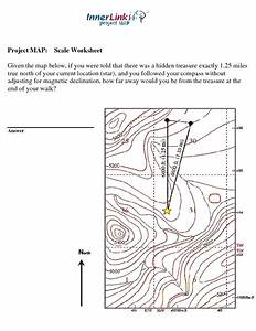 Project Map  Scale Worksheet Worksheet For 7th