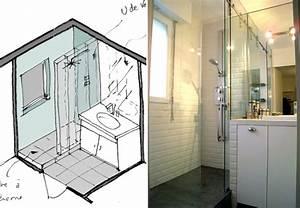 Douche Petit Espace : les 10 plus belles salles de bains de l agence studio d 39 archi le blog d 39 architecte de nicolas ~ Voncanada.com Idées de Décoration