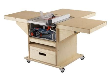 roll up table plans quick convert tablesaw router station wood magazine