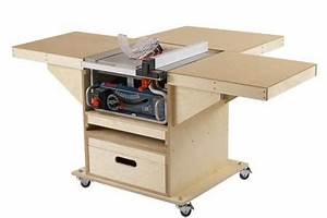 Quick-Convert Tablesaw/Router Station WOOD Magazine
