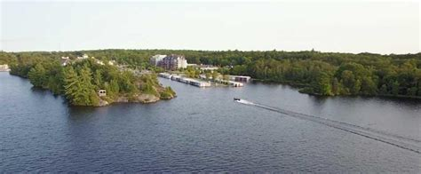 Boat Launch Gravenhurst by Lake Muskoka A Fantastic Place To Fish For Families