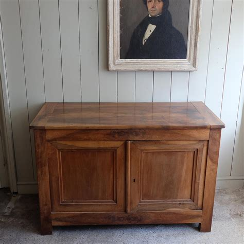 French Cherry Wood Buffet Puckhaber Decorative Antiques
