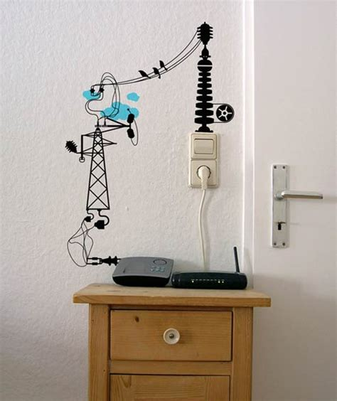 quot electronic chaos quot vinyl wall stickers freshome