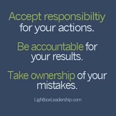 hold people accountable achieving