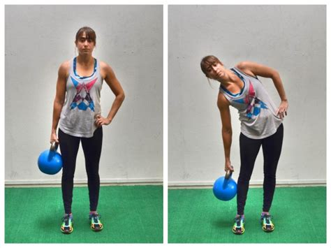 exercises core kettlebell standing dumbbell abs plate holding weight teapots strength don redefining