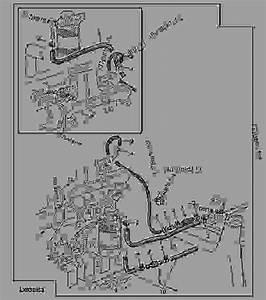 Fuel Hoses - Tractor John Deere 6400 - Tractor