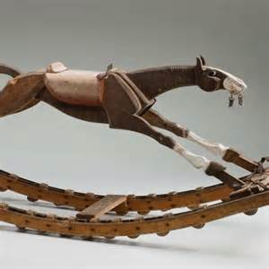Wooden rocking horse, 1920s - ABC News (Australian ...