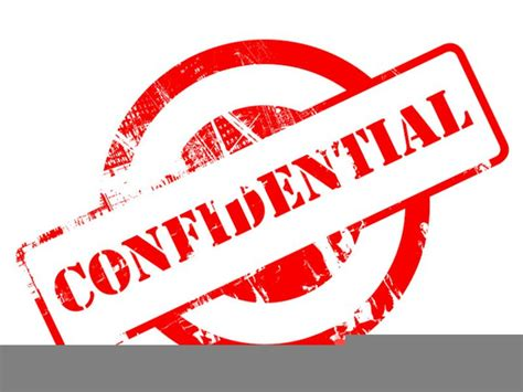 Privacy And Confidentiality Clipart