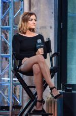 LUCY HALE at AOL Build Speaker Series Pretty Little Liars ...